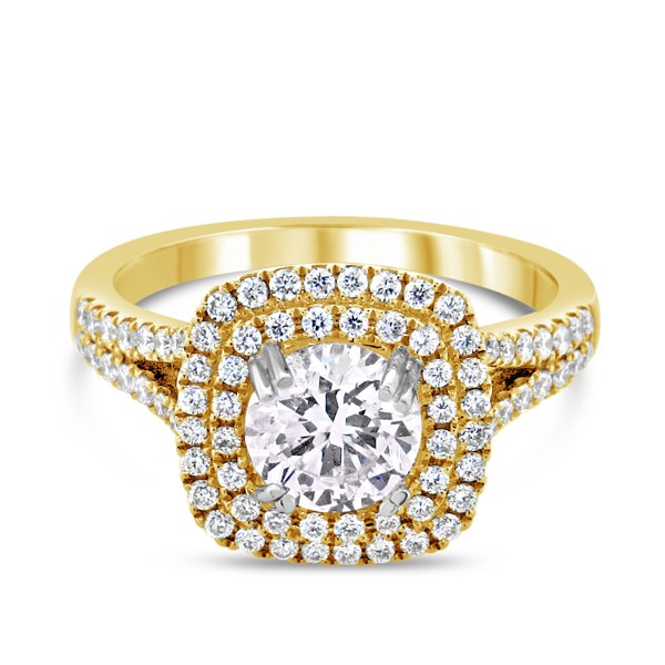 Diamond Engagement Ring by Natalie K