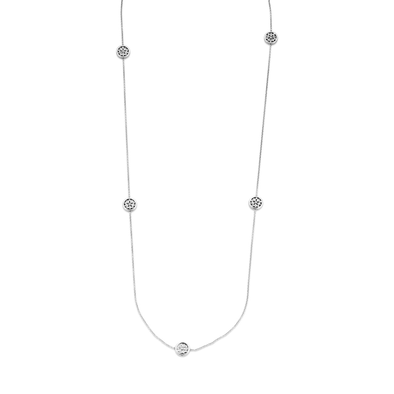 Sterling Silver Necklace by Ti Sento
