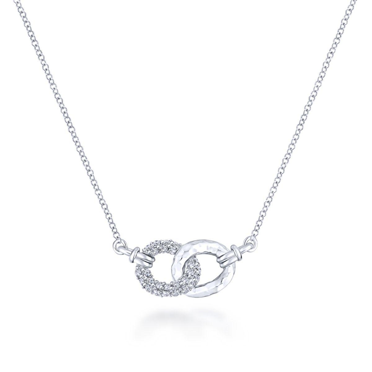 Sterling Silver Necklace by Gabriel & Co